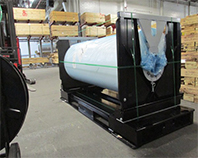 Design & Supply Fabricated Steel Roll Shipper Systems