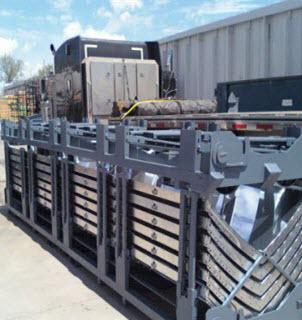 Folding Storage Racks