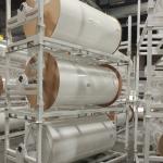 Suspended Steel Roll Racks