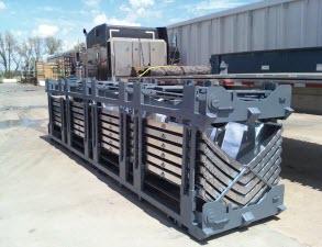 Folding Shipping Racks -1