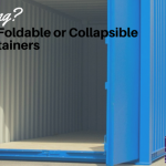 Foldable or Collapsible Steel Containers