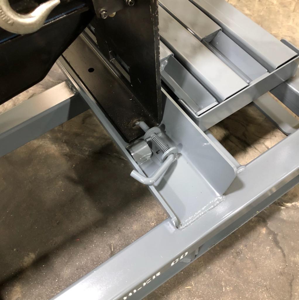 V8 Engine Rack Pin Locator