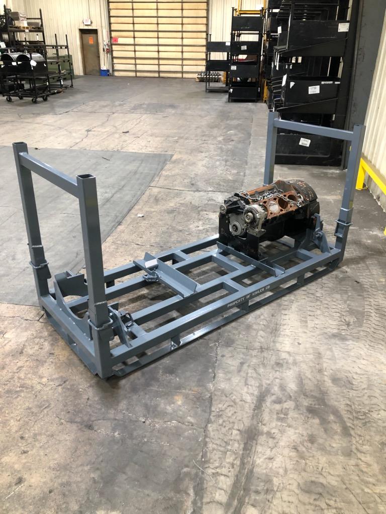 V8 Engine Rack