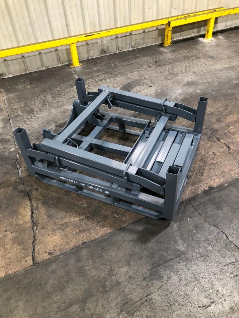 Folding Large V8 Engine Rack