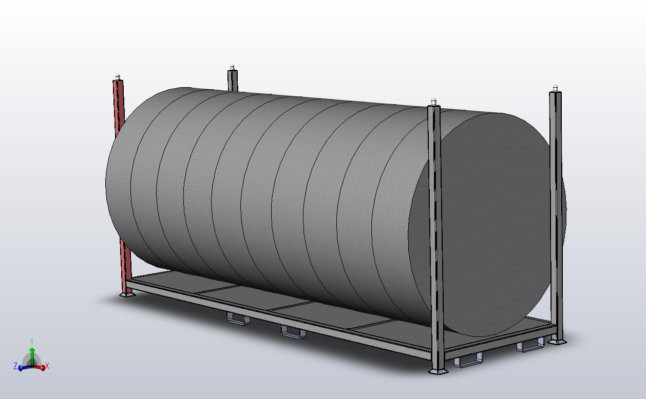 Equipment on Steel Deck Pallet