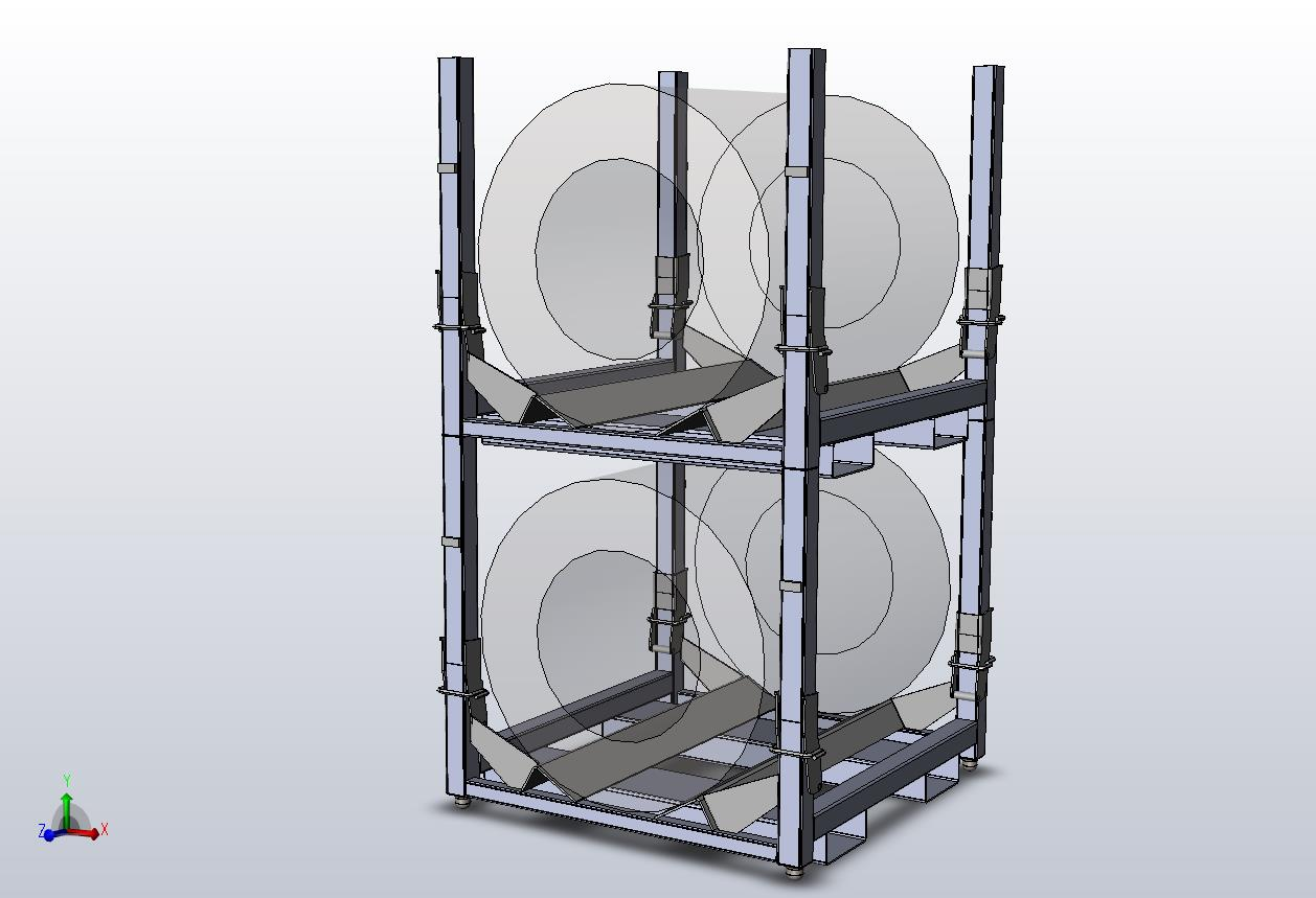 coil storage racks
