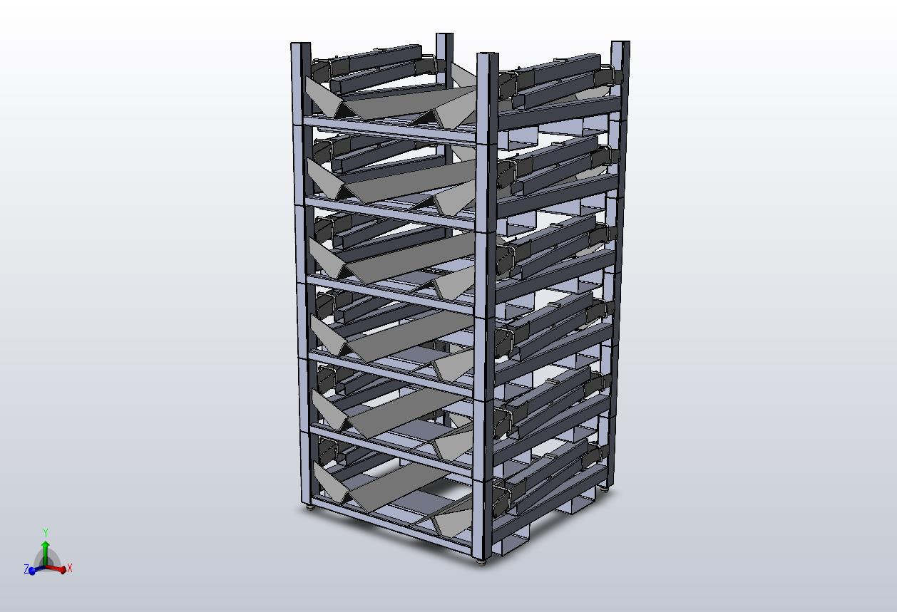 custom coil storage racks