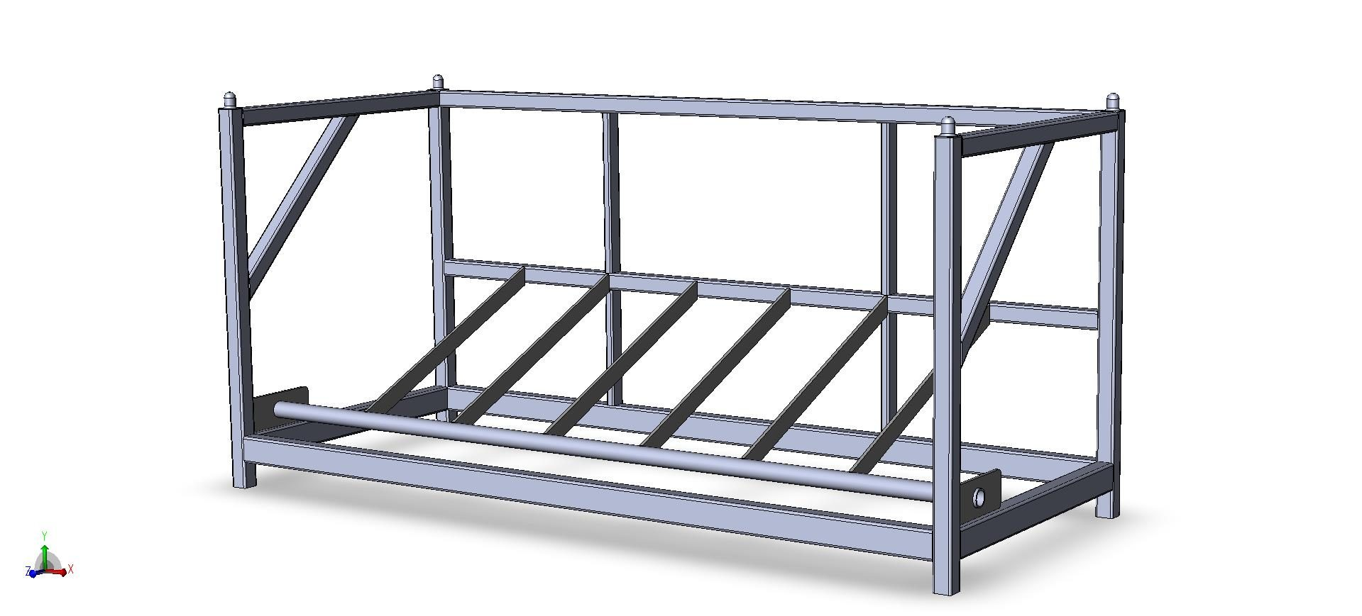 Warehouse Tire Storage Rack